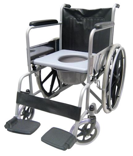 silla de ruedas con comodo