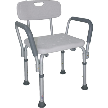 silla para ducha con brazos provar medical